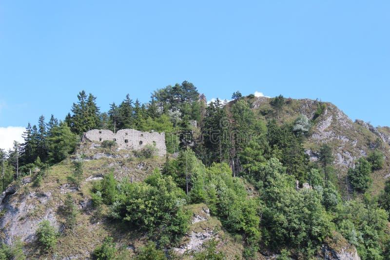 Fortifique Vrsatec e o céu azul fotografia de stock royalty free