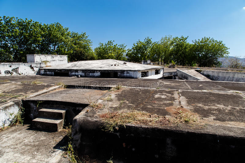 FortIin El, Леон, Никарагуа стоковое фото rf