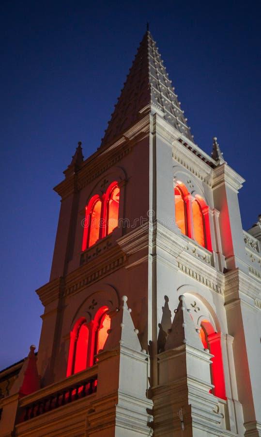 Fortkochi Santa Cruz Cathedral Basilica, Kochi royalty-vrije stock foto