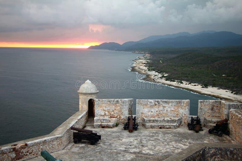FortKuba för El Morro royaltyfri foto