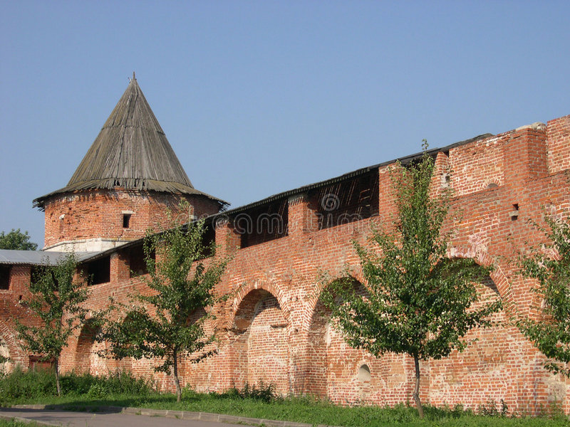 Download Fortress stock photo. Image of russia, roof, exterior, wooden - 159000