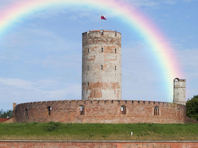 Download Fortress stock image. Image of defense, green, fortified - 20521793