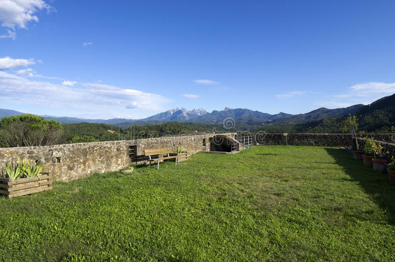 Download Fortress stock image. Image of village, ruins, country - 21634029