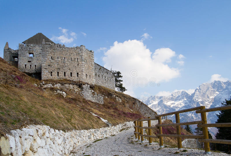 Download Fortress stock photo. Image of blue, ruined, monument - 23982924