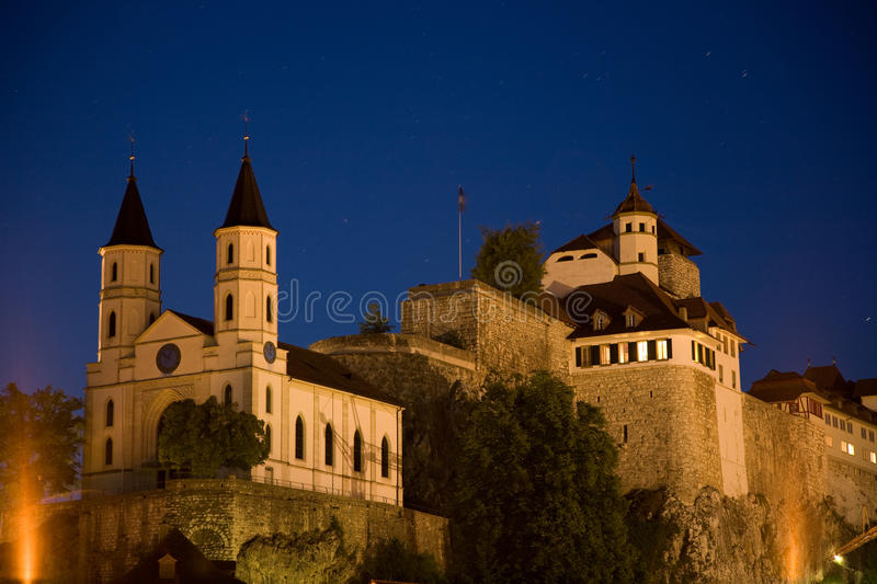 Download Fortress Aarburg stock photo. Image of architecture, historically - 16616484