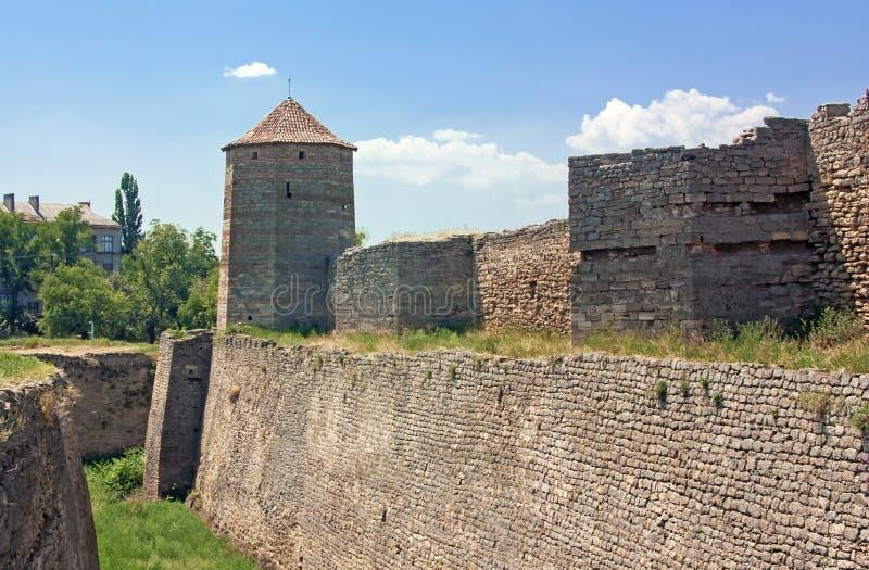 Fortress Akkerman, Ukraine royalty free stock photography