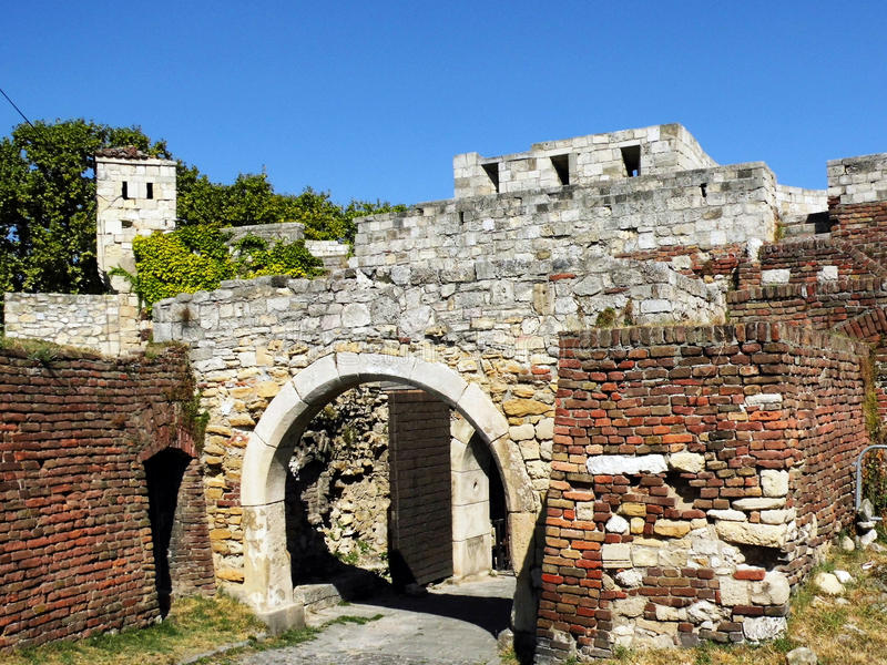Fortress archway royalty free stock photos
