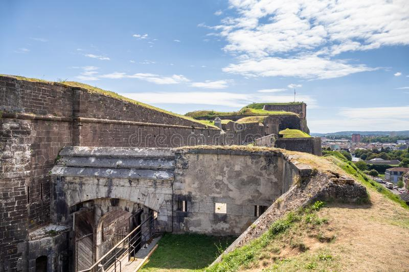 Fortress of Belfort France. An image of the fortress of Belfort France royalty free stock images
