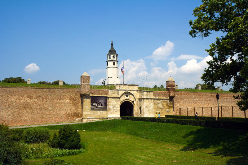 Fortress In Belgrade Stock Images