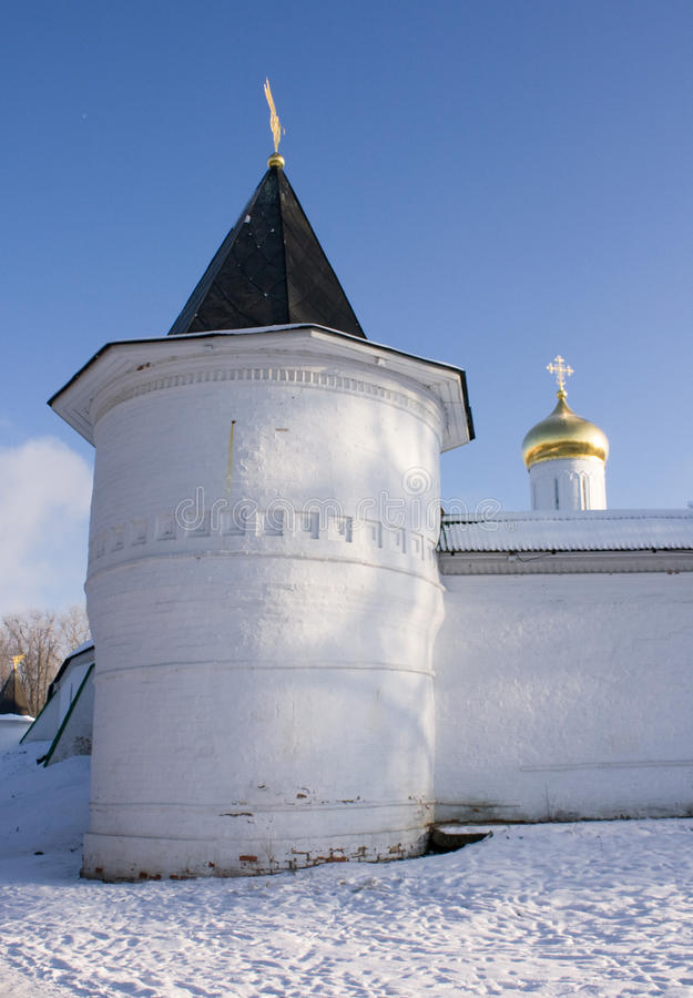Fortress Of Boris And Gleb S Cathedral, Dmitrov Royalty Free Stock Photos