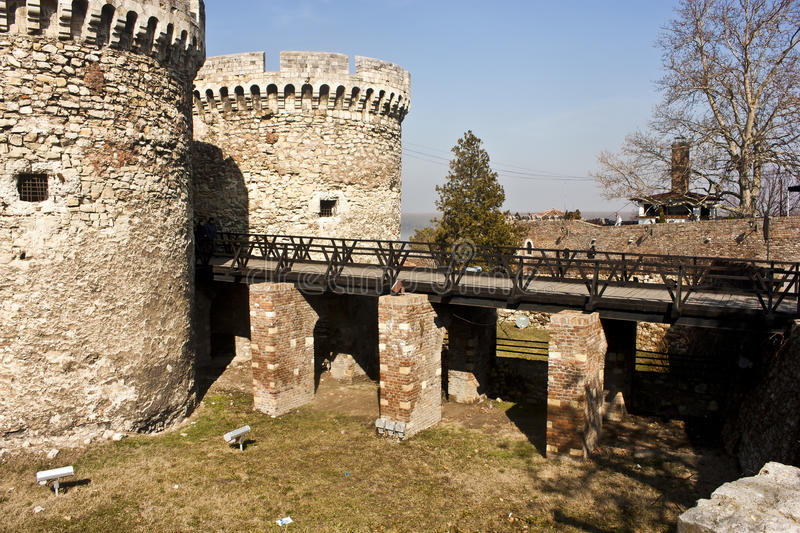 Download Fortress bridge stock photo. Image of medieval, tower - 23763300