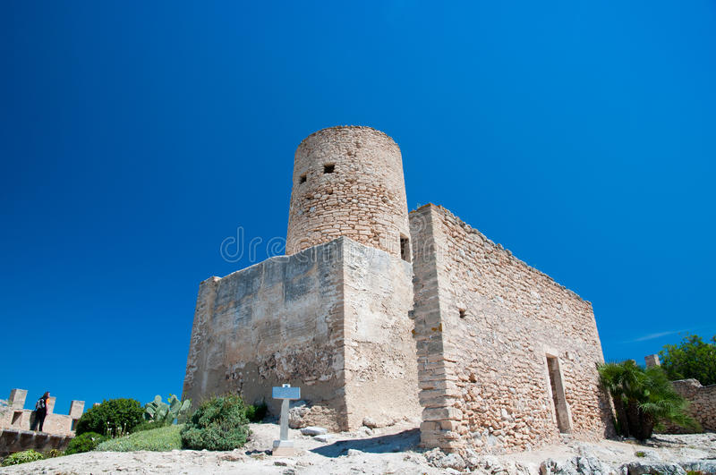Download Fortress Of Capdepera Stock Photo - Image: 19964560