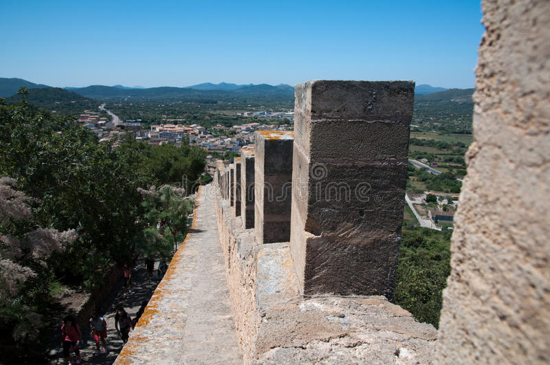 Download Fortress of Capdepera stock image. Image of spanish, tourism - 19965035