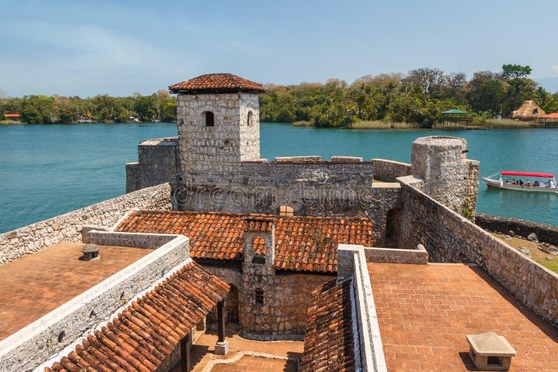 Fortress Castillo de San Felipe de Lara foto de archivo