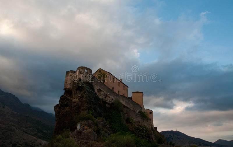 Download Fortress of Corte stock photo. Image of fortress, island - 26415460