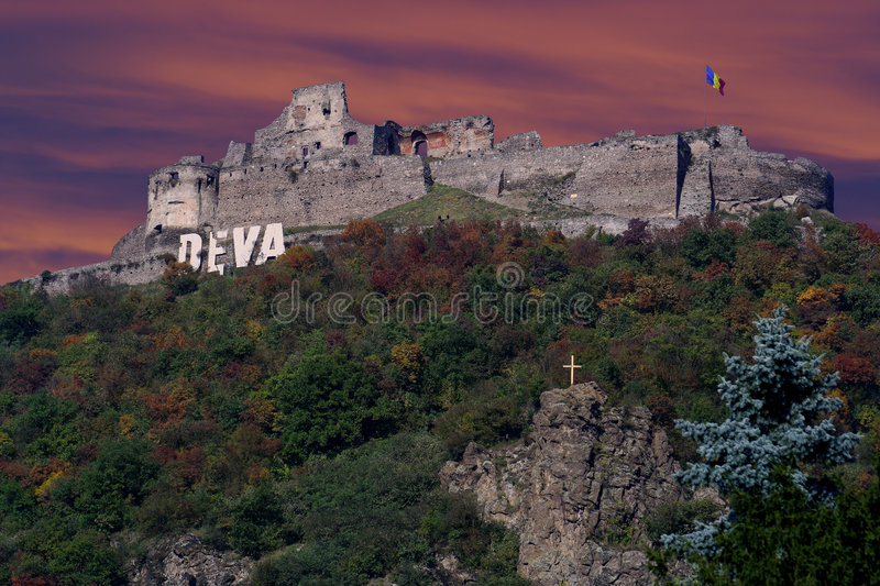 Download Fortress Of The Deva In Dusk Stock Image - Image: 7896711