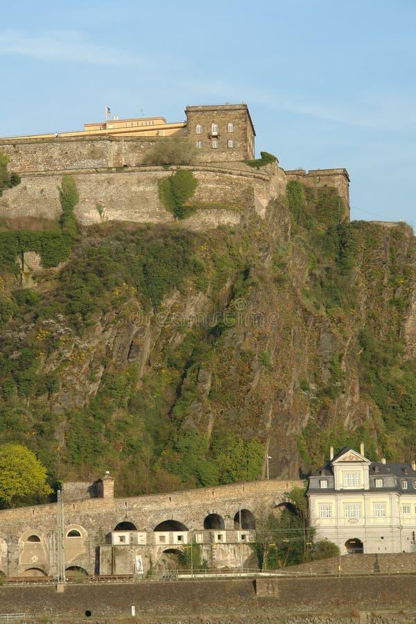 Fortress Ehrenbreitstein royalty free stock photo