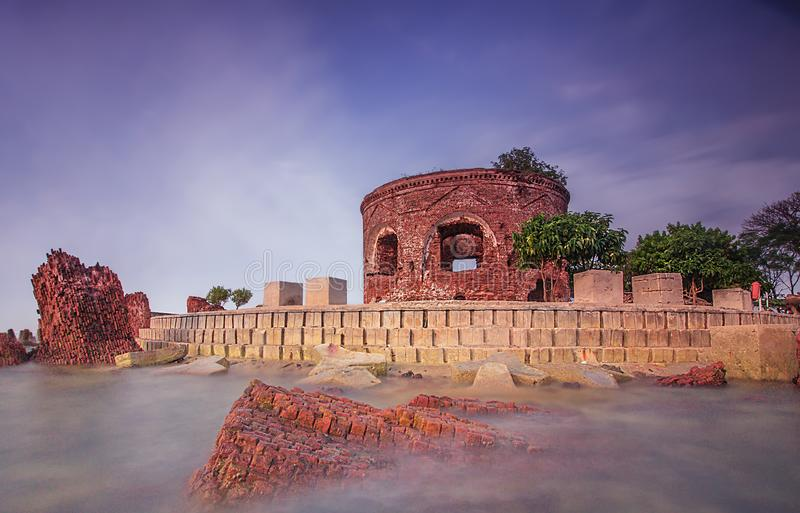 Fortress. History landscape view world war heritage royalty free stock images