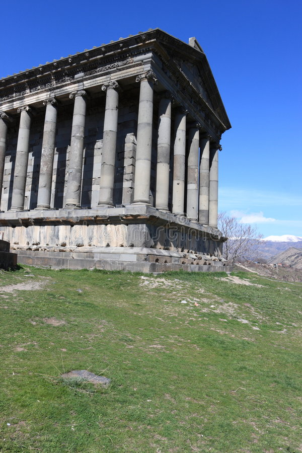 Download The fortress of Garni stock image. Image of scenics, faith - 9144213