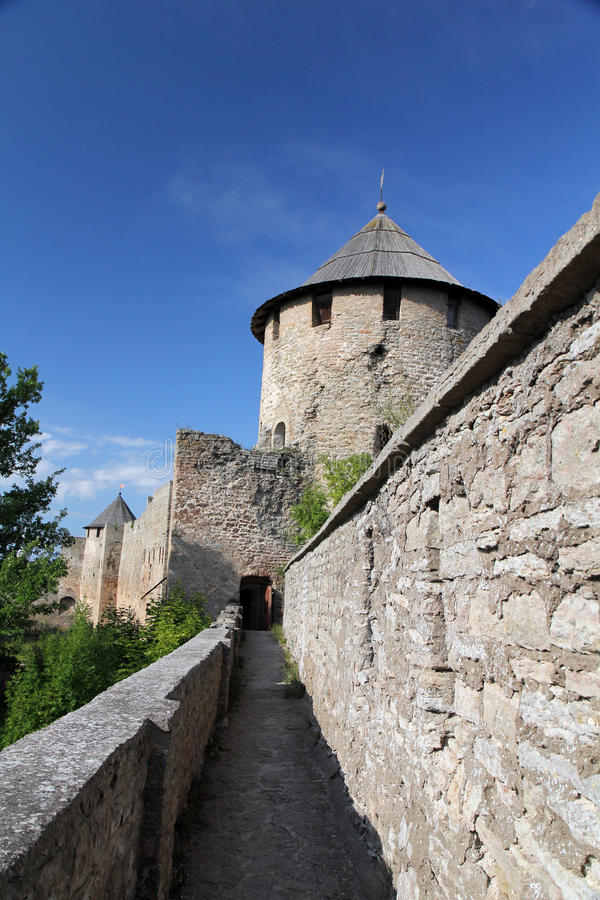 Download Fortress Ivangorod stock image. Image of castle, tower - 22500617