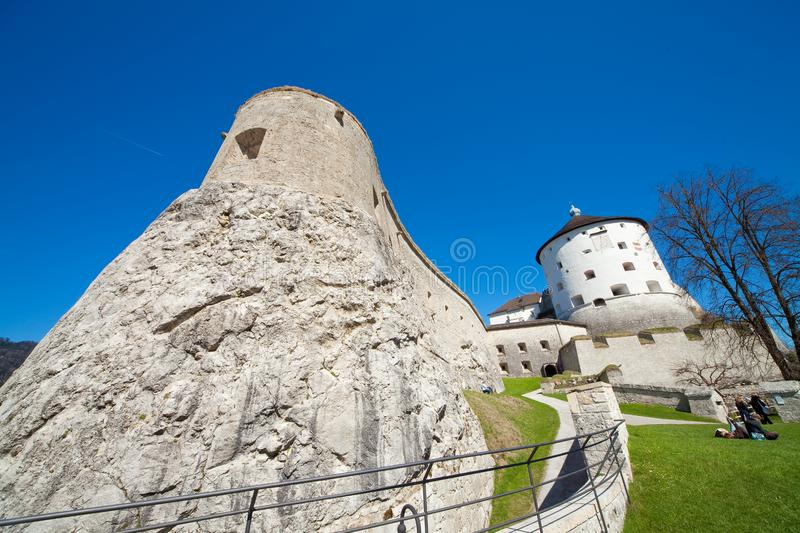 Download Fortress of Kufstein stock image. Image of bordertown - 13847633