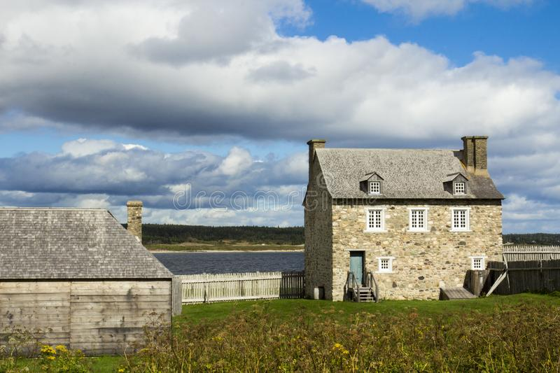 Fortress of Louisbourg, Sydney, Nova Scotia stock photos