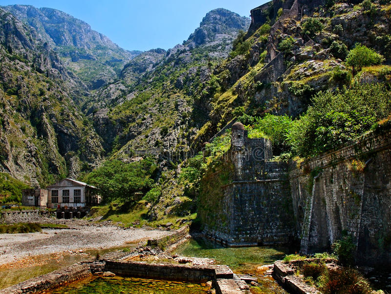 Download Fortress of the old town stock photo. Image of montenegro - 22791654