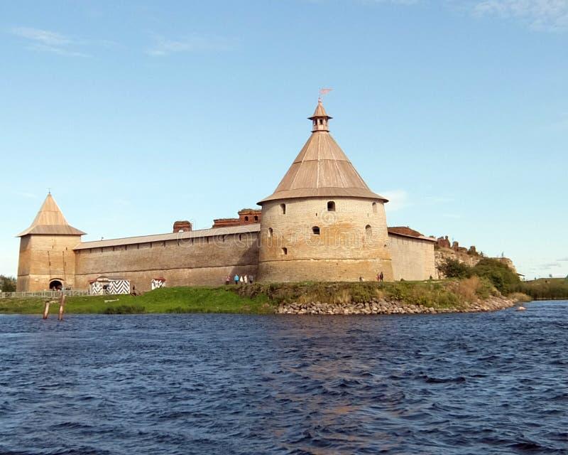 Fortress Oreshek royalty free stock photography