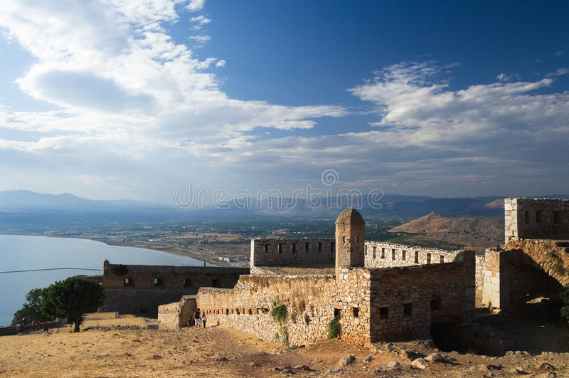 Fortress of Palamidi royalty free stock images
