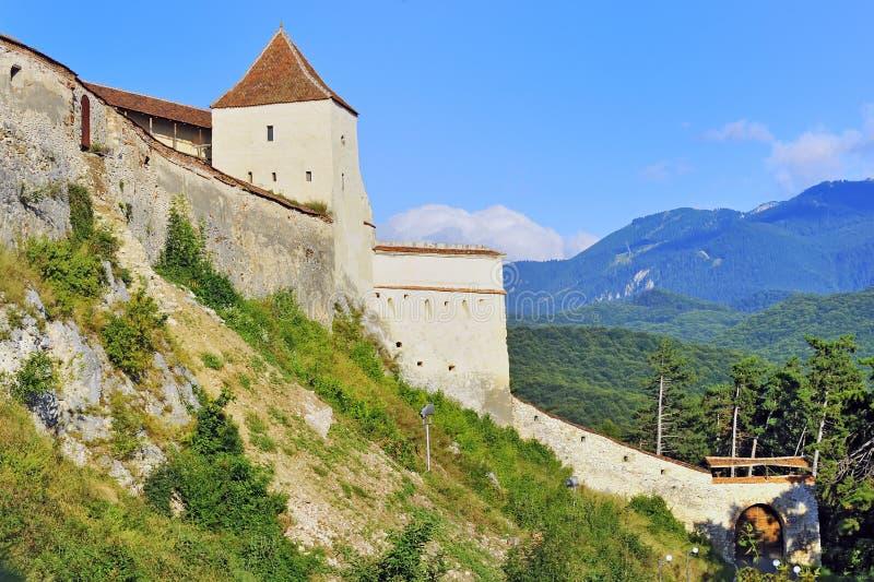 Fortress Rasnov Stock Photo