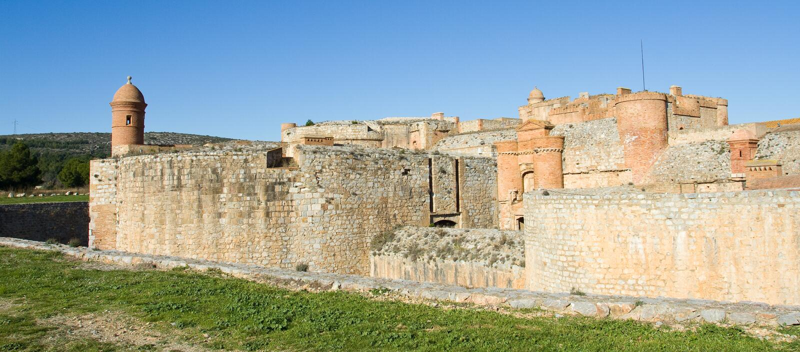 Download Fortress of Salses stock image. Image of salses, unesco - 23112117
