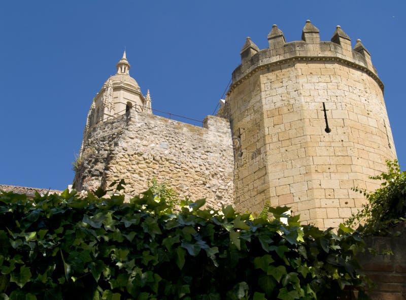 Fortress of segovia royalty free stock photo