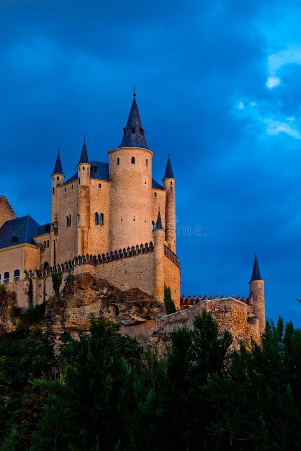 Fortress of Segovia stock photography