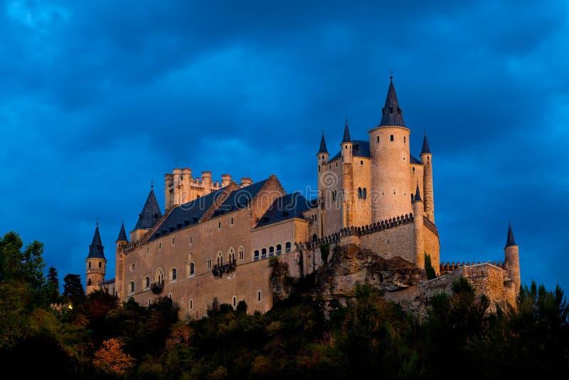 Fortress of Segovia royalty free stock photos