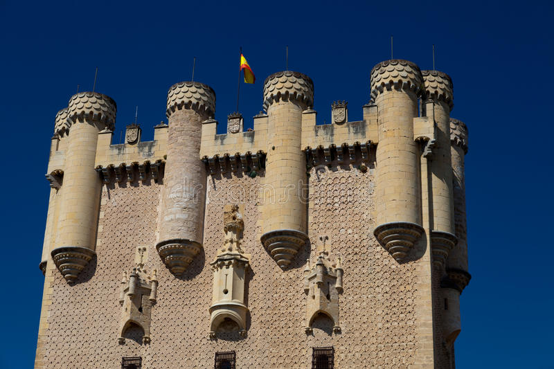 Fortress of Segovia royalty free stock images