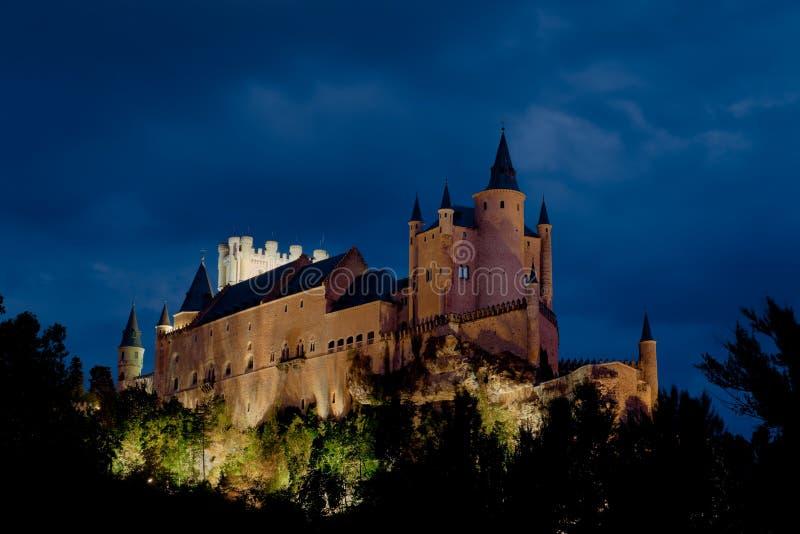 Fortress of Segovia stock photos