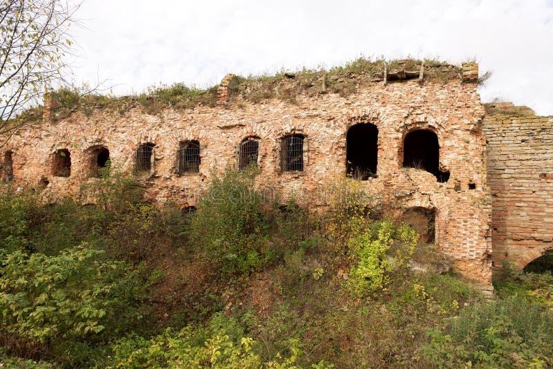 Fortress Shlisselburg (Oreshek). On island near town Shlisselburg in surroundings of St. Petersburg, Russia stock image