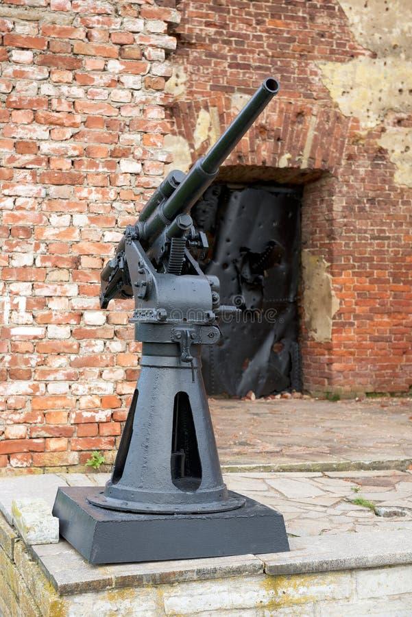 Fortress Shlisselburg (Oreshek). On island near town Shlisselburg in surroundings of St. Petersburg, Russia stock photo