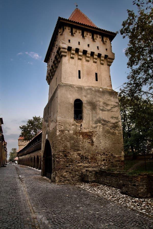 Download Fortress at Sibiu stock image. Image of destination, cobblestone - 8229043