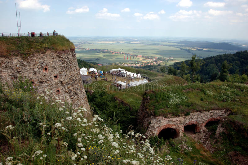 Fortress in Srebrna Gora, Poland royalty free stock image