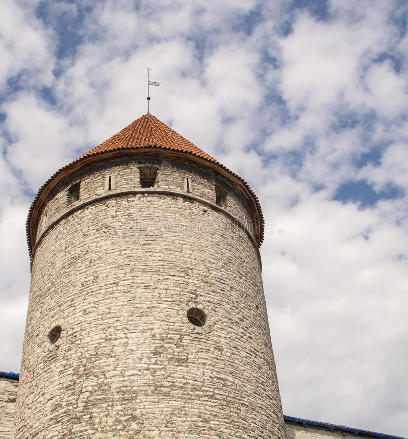 Free Fortress Tower In Old Tallin Stock Images - 37207634