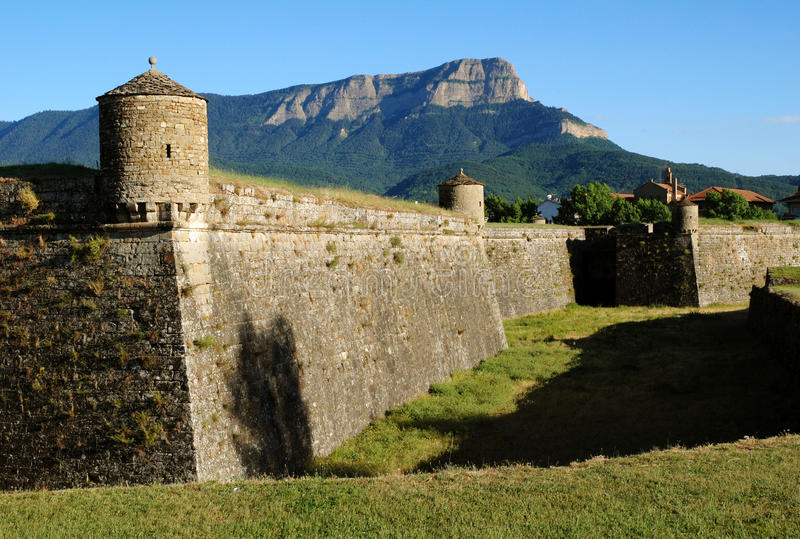 Fortress In Town Jacca Royalty Free Stock Photography