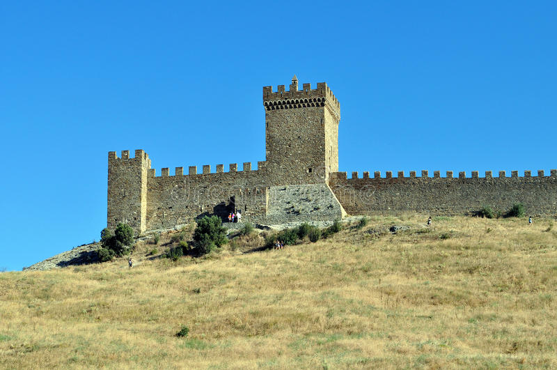 Fortress wall stock photos