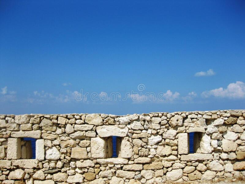 fortress-wall royalty free stock photography