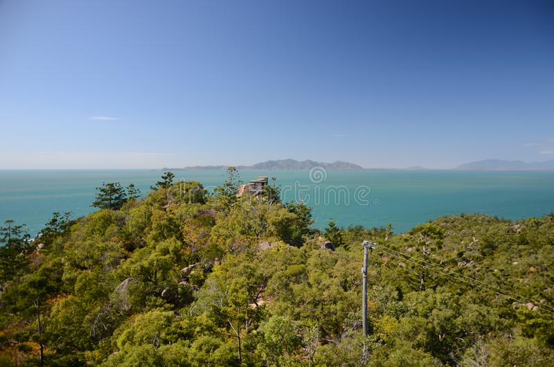 The forts Magnetic island, Australia. The forts, WW2 defence Magnetic island , Queensland, Australia stock image