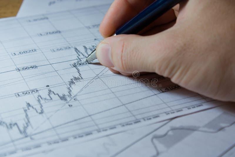 Fortschrittsdiagramm lizenzfreie stockfotos