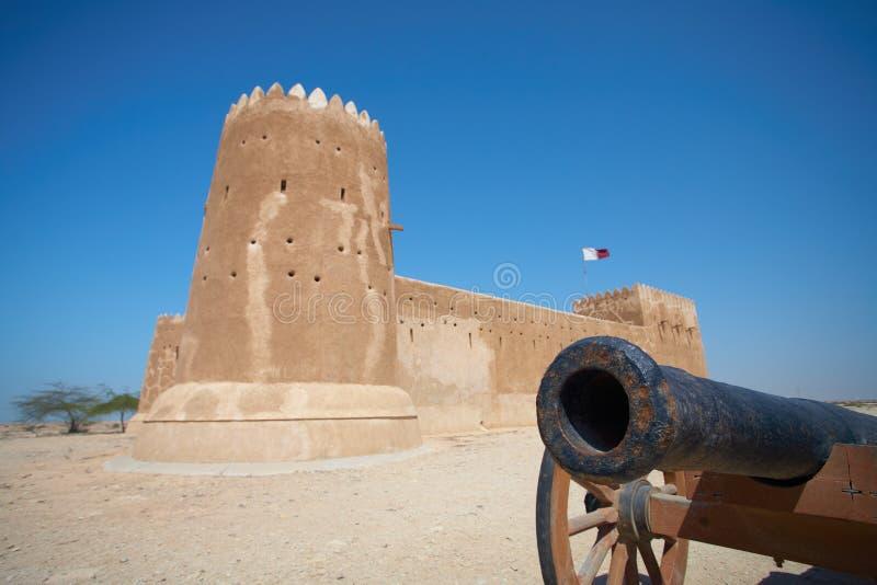 Fortu Al Zubarah zdjęcie royalty free