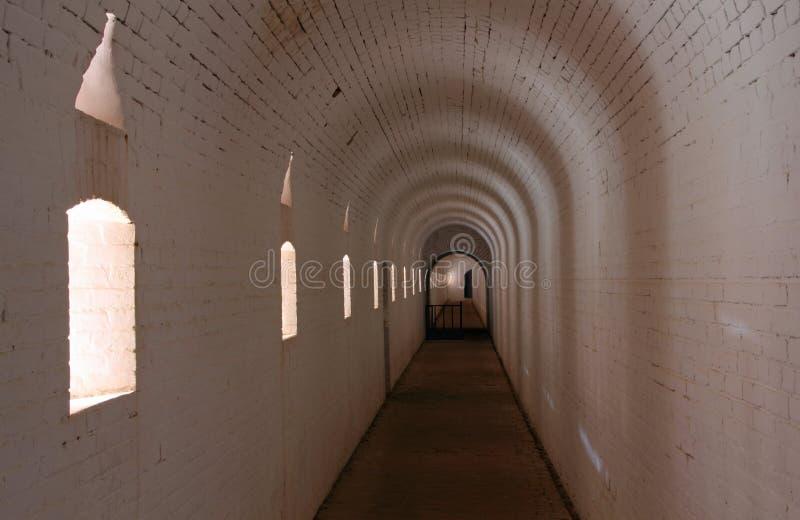 Fortu Barrancas wnętrze zdjęcia stock