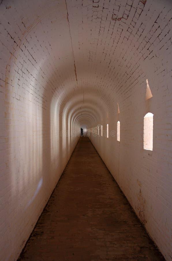 Fortu Barrancas wnętrze zdjęcia royalty free