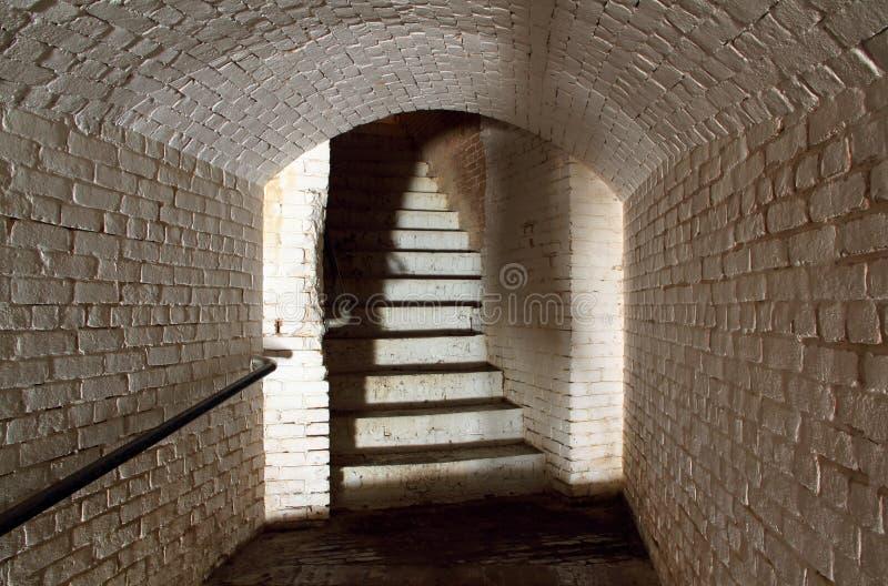 Fortu Barrancas wnętrze obraz royalty free